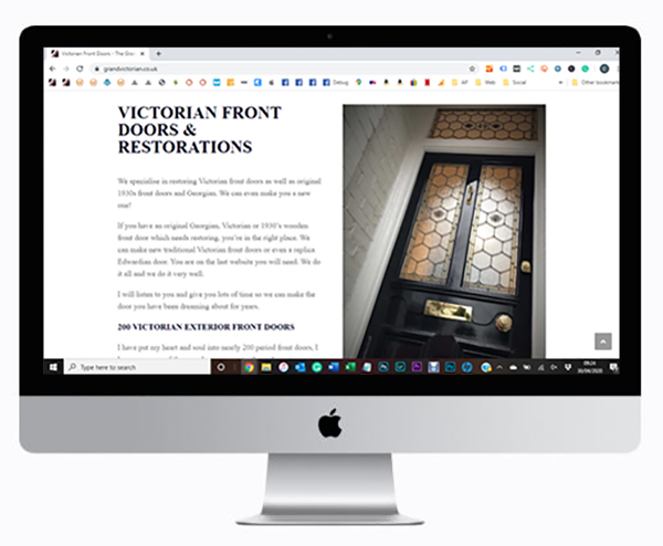 Grand Victorian Door Company website